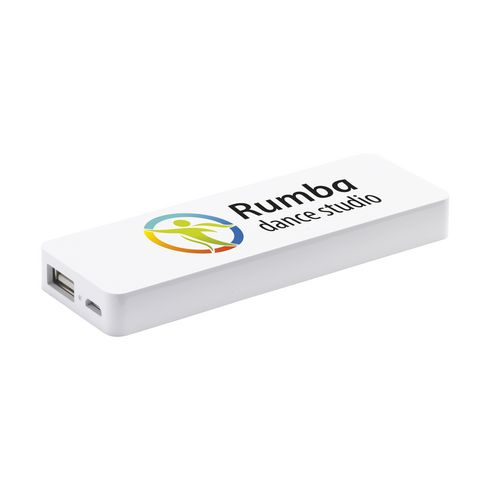 Compacte powerbank 2500 mAh